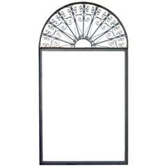 Vintage Ornate Wrought Iron Door Arch Frame Patio Garden Element