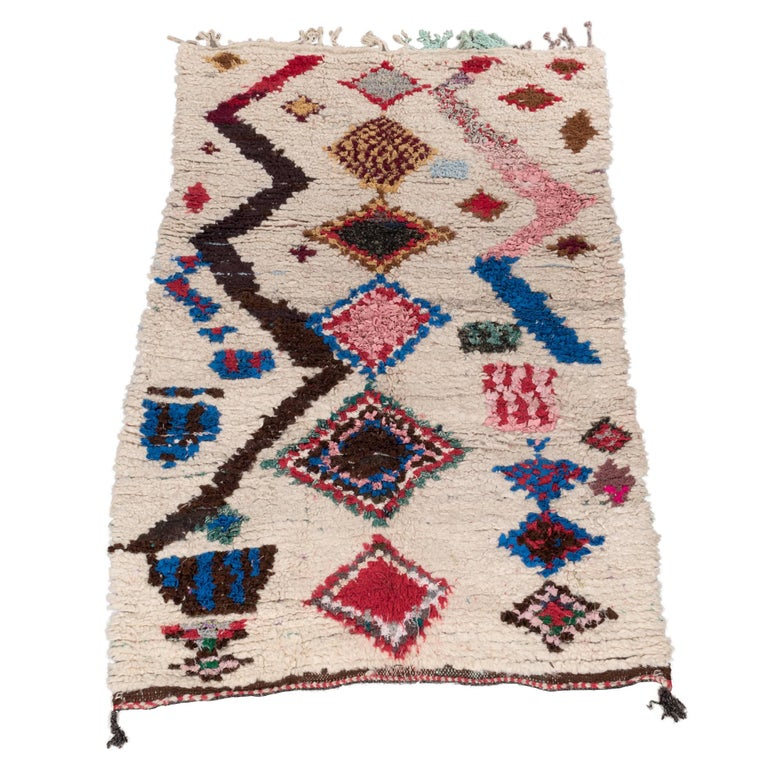Vintage Ourika Rug Hand Picked from Morocco