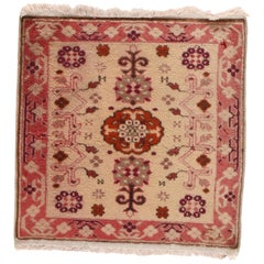 Vintage Oushak Turkish Rug
