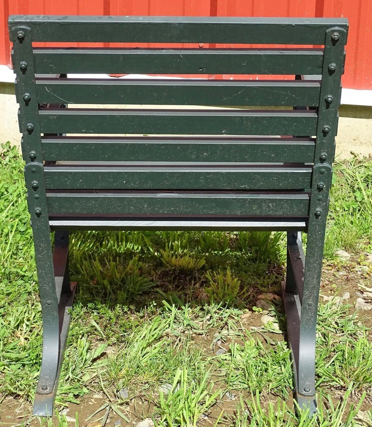 Painted Vintage Outdoor Porch or Garden Lounge Chairs For Sale