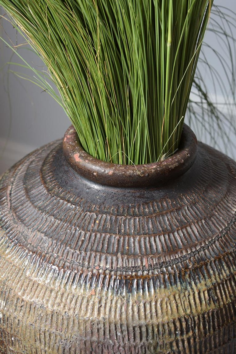 European Vintage Outdoor Urn Ceramic Vase For Sale