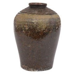 Vintage Outdoor Urn Ceramic Vase
