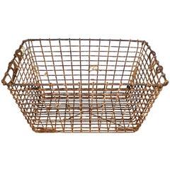 Vintage Oyster Baskets