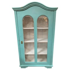Vintage Painted Display Cabinet