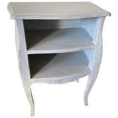 Vintage Painted Louis XV Style Nightstand