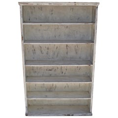 Vintage Painted Pine Pantry or Utility Shelves