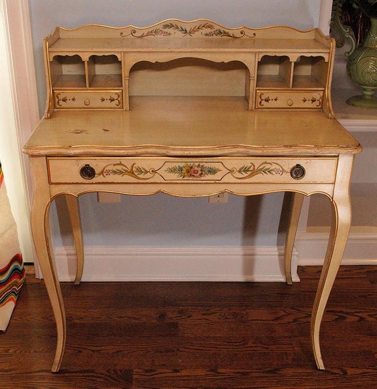 Vintage Painted Writing Desk 4
