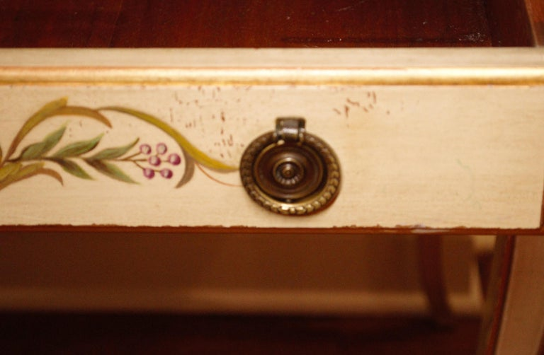 20th Century Vintage Painted Writing Desk