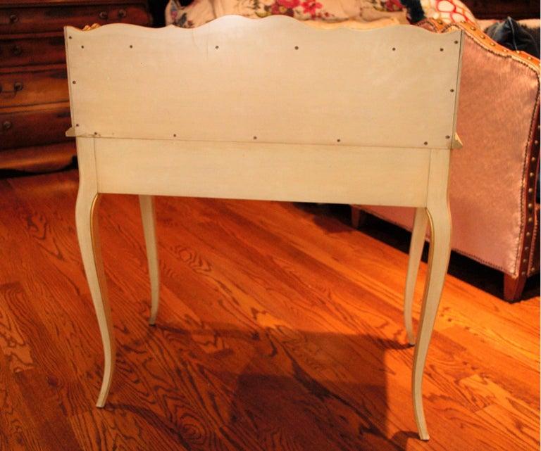 Vintage Painted Writing Desk 1
