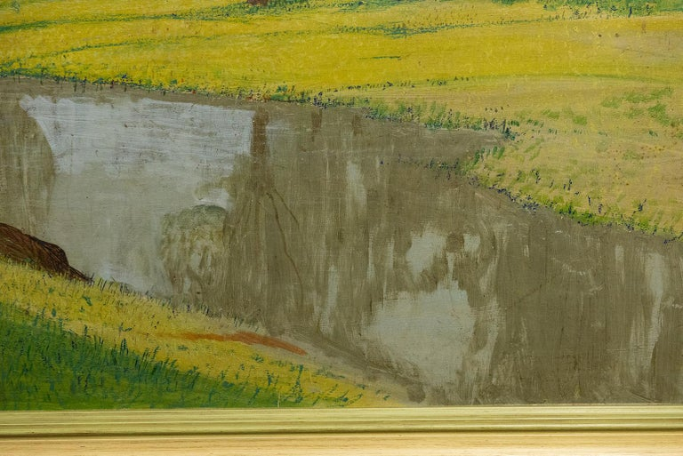 Early 20th Century Vintage Painting