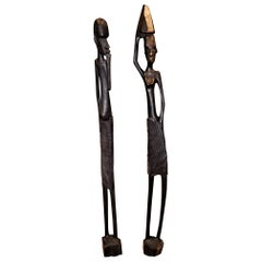 Vintage Pair of Congolese Luba Figures