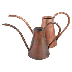 Vintage Pair of Copper Pitchers by Harald Buchrucker - Germany 1950s