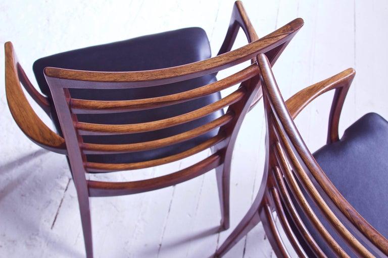 Vintage Pair of 'Lis' Chairs by Niels Koefoed for Koefoeds Møbelfabrik, 1968 2
