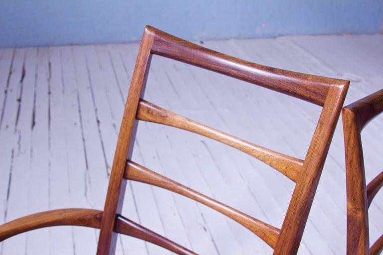 Vintage Pair of 'Lis' Chairs by Niels Koefoed for Koefoeds Møbelfabrik, 1968 4