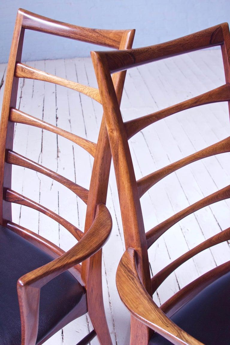 Vintage Pair of 'Lis' Chairs by Niels Koefoed for Koefoeds Møbelfabrik, 1968 5