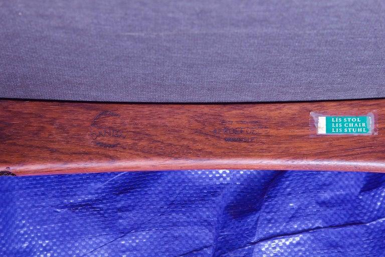Vintage Pair of 'Lis' Chairs by Niels Koefoed for Koefoeds Møbelfabrik, 1968 6
