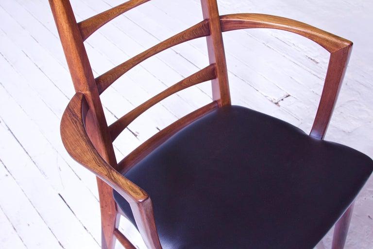 Vintage Pair of 'Lis' Chairs by Niels Koefoed for Koefoeds Møbelfabrik, 1968 7