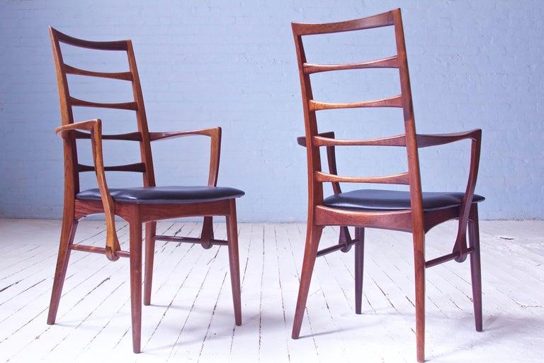 Scandinavian Modern Vintage Pair of 'Lis' Chairs by Niels Koefoed for Koefoeds Møbelfabrik, 1968
