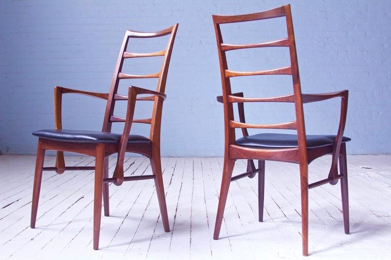 Danish Vintage Pair of 'Lis' Chairs by Niels Koefoed for Koefoeds Møbelfabrik, 1968