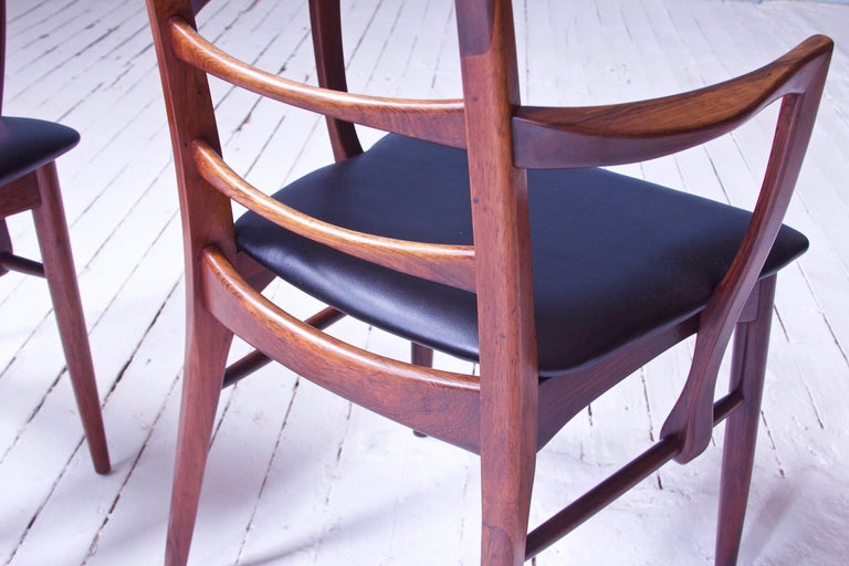 Mid-20th Century Vintage Pair of 'Lis' Chairs by Niels Koefoed for Koefoeds Møbelfabrik, 1968