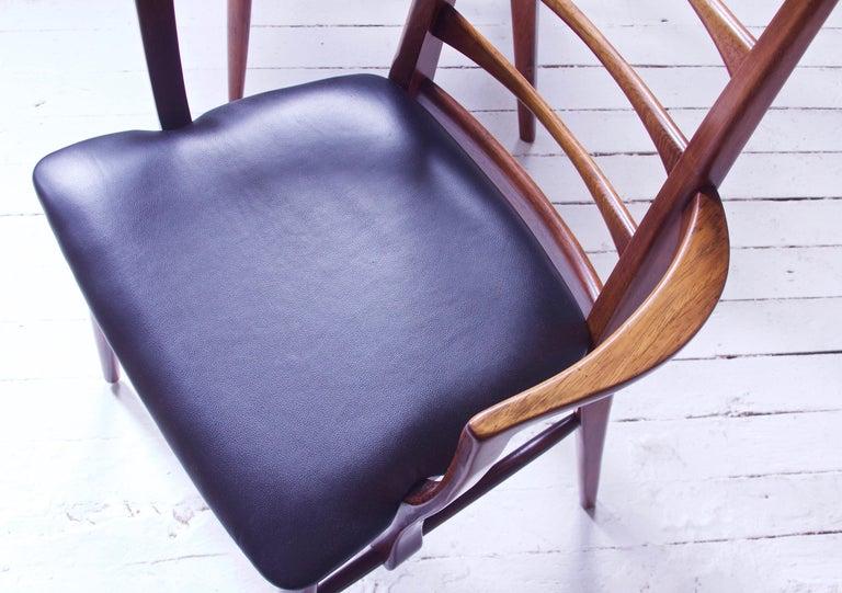 Vintage Pair of 'Lis' Chairs by Niels Koefoed for Koefoeds Møbelfabrik, 1968 1