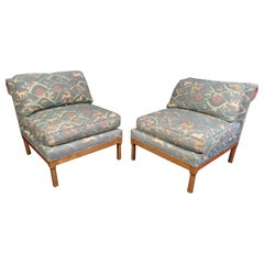 Vintage Pair of Mid-Century Modern Lounge Chairs