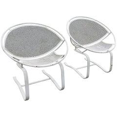 Vintage Pair of Salterini Radar Chairs #1