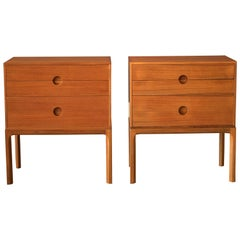 Vintage Pair of Teak Danish Kai Kristiansen Nightstands