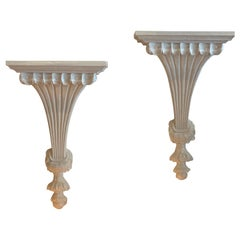 Hollywood Regency Wall Brackets