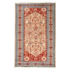 Vintage Pakistani Hand Knotted Rug Carpet