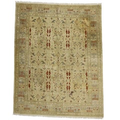 Vintage Pakistani Rug with Modern Traditional Style