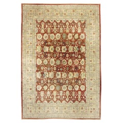 Vintage Pakistani Rug with Rustic Arts and Crafts Style