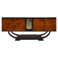 Vintage Paolo Buffa Style Burled Buffet