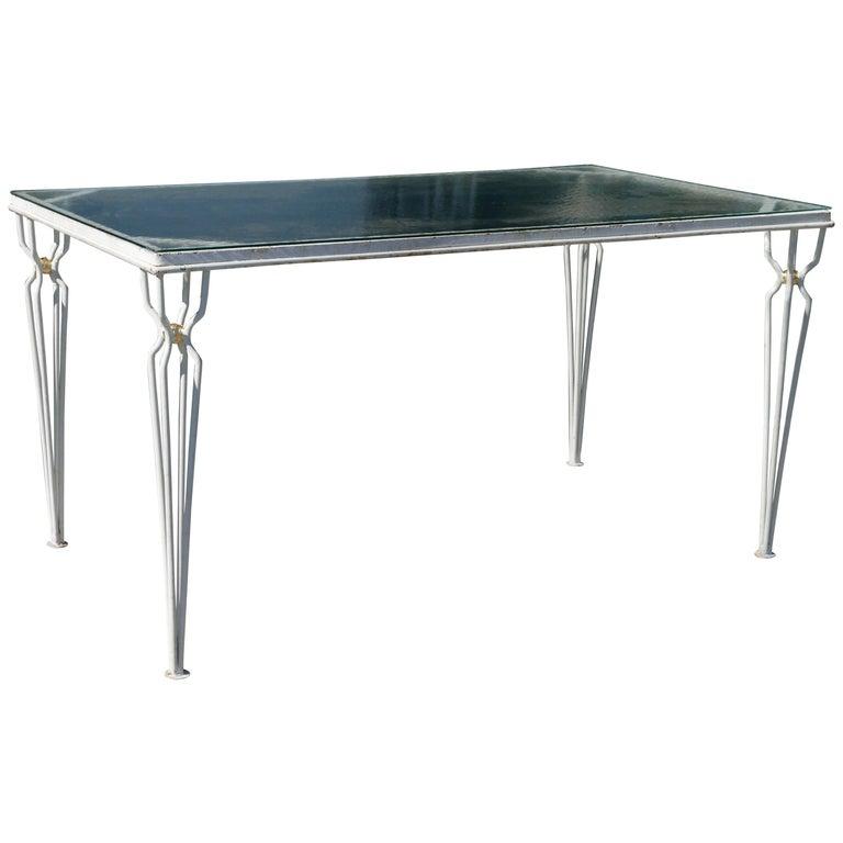 Vintage Parzinger style Table, circa 1950 For Sale