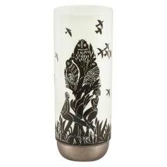 "Vintage ""Pastorale"" Ceramic Vase by Ambrogio Pozzi, Rosenthal Studio Line, 1960s"