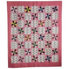 Vintage Patchwork Quilt, 19th Century