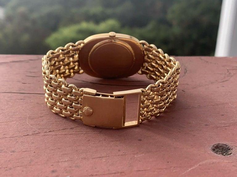 Women's or Men's Vintage Patek Philippe 18 Karat Yellow Gold Ellipse 3577/1 Watch 84g