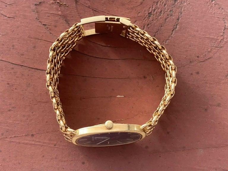 Vintage Patek Philippe 18 Karat Yellow Gold Ellipse 3577/1 Watch 84g 1