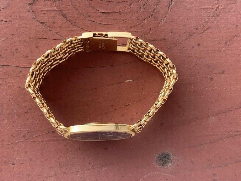 Vintage Patek Philippe 18 Karat Yellow Gold Ellipse 3577/1 Watch 84g 2