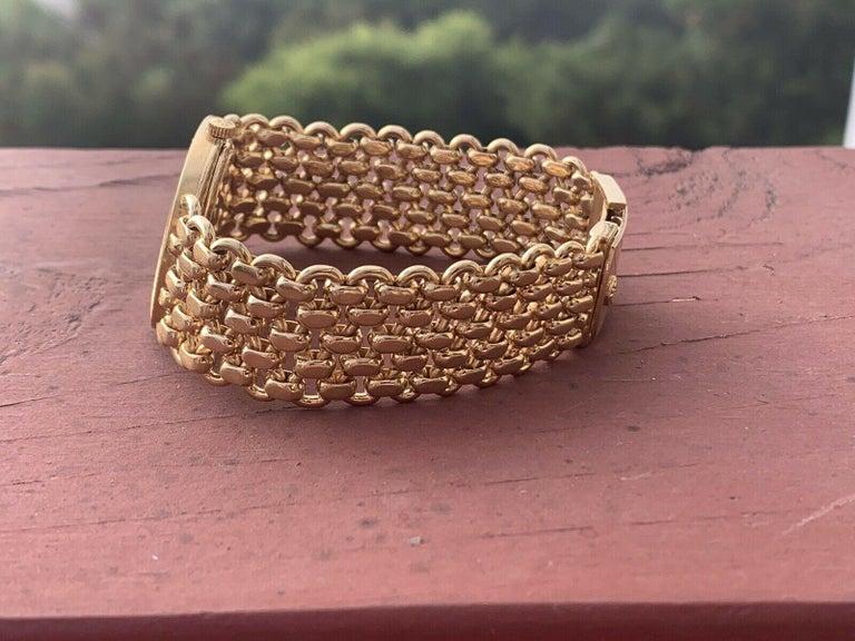 Vintage Patek Philippe 18 Karat Yellow Gold Ellipse 3577/1 Watch 84g 5