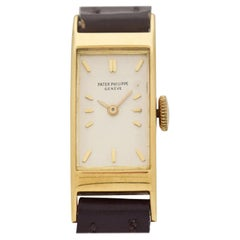 Vintage Patek Philippe Ladies 18 Karat Yellow Gold Watch, 1943