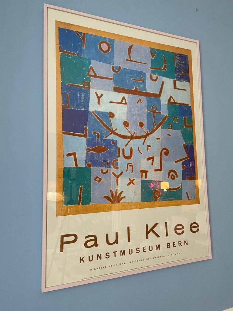 Vintage Paul Klee Exhibition Poster from Kunstmuseum Bern, Switzerland, 1994 For Sale 4