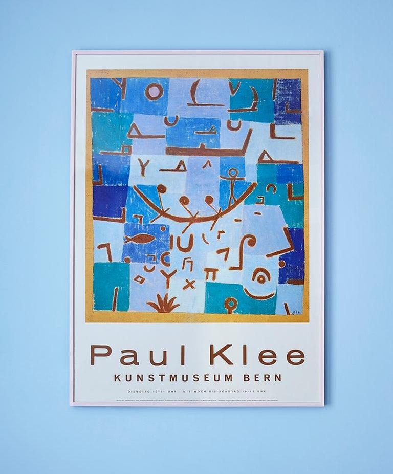 Paul Klee Switzerland, 1994  Vintage exhibition poster