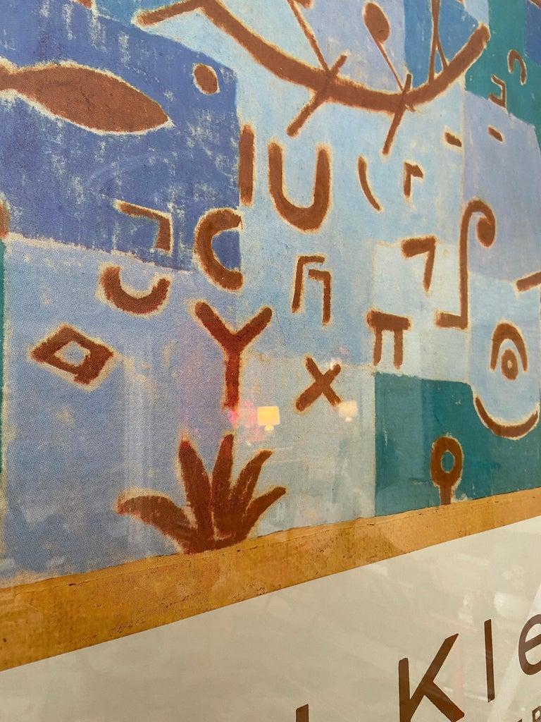 Vintage Paul Klee Exhibition Poster from Kunstmuseum Bern, Switzerland, 1994 For Sale 3