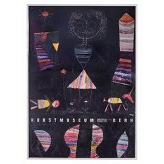 Vintage Paul Klee Exhibition Poster, Switzerland, Late 20th Century