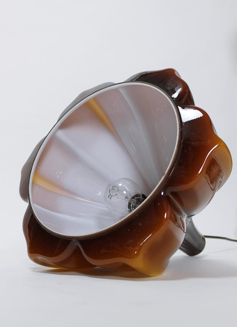 Vintage Peill & Putzler Flower Shaped Ceiling Lamp 1970s Germany For Sale 3