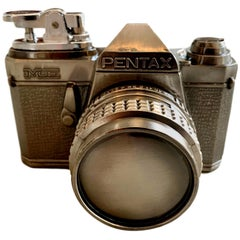 Vintage Pentax Camera Table Lighter