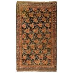 Vintage Persian Afshar Rug Carpet, circa 1940