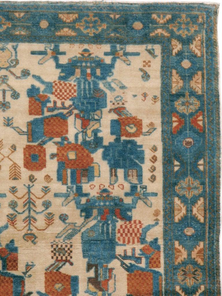 Tribal Vintage Persian Afshar Rug For Sale