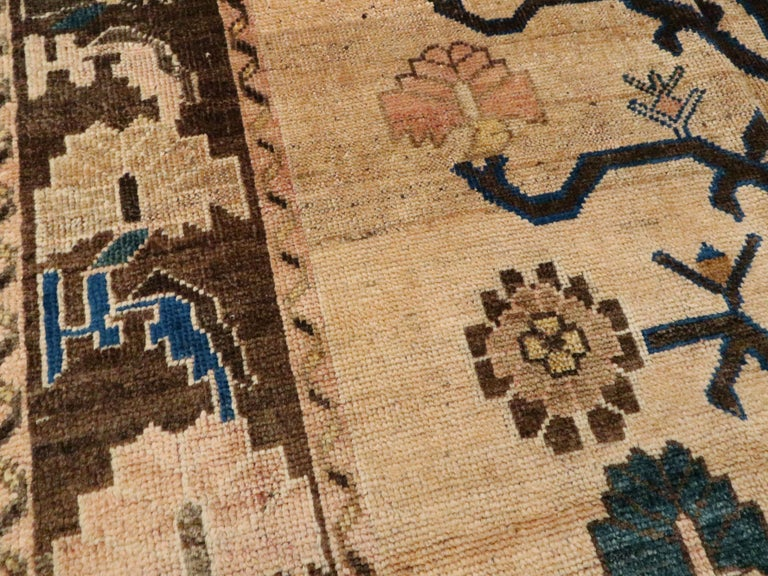 Vintage Persian Afshar Rug In Good Condition For Sale In New York, NY